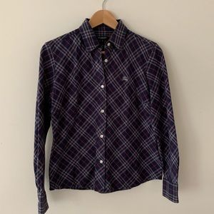 Women's Burberry Shirt Size Xs-S